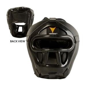 training-gear-protective-gear-head-guards-a-proforce-thunder-vinyl-with-face-shield-black