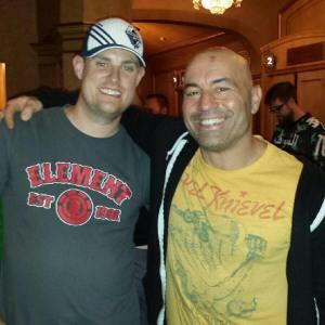 Rod with Joe Rogan